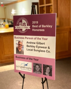 Berkley Business of the Year 2019 Such Great Heights Marketing
